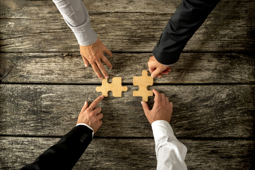 Mergers between companies take place in various forms